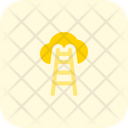 Cloud Stairs Icon