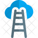 Cloud Stairs Cloud Technology Cloud Computing Icon