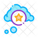 Star Bonus Cloud Icon