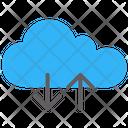 Cloud Storage Server Technology Icon