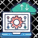 Cloud Engineering Cloud Development Laptop Settings Icon