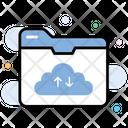 Cloud Storage Cloud Folder Cloud Folder Synchronization Icon