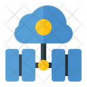 Cloud Storage Data Storage Database Connection Icon