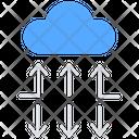 Cloud Storage Data Storage Online Data Storage Icon