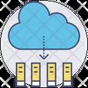 Download Cloud Storage Ebooks Icon