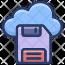 Cloud Storage Cloud Disk Cloud Computing Icon