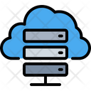 Cloud Hosting Storage Icon
