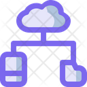 Cloud storage Icon