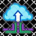 Fintech Cloud Storage Icon