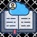 Cloud Storage Online Study Ebook Icon