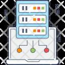 Online Dataserver Sql Digital Database Icon