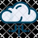Seo Cloud Storage Icon