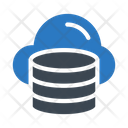 Database Cloud Online Icon