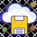 Cloud Storage Cloud Disc Cloud Computing Icon