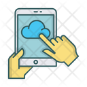 Tablet Cloud Icon