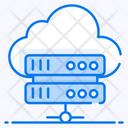 Cloud Hosting Cloud Storage Cloud Server Icon