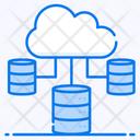 Cloud Storage Cloud Hosting Cloud Server Icon