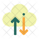 Cloud Storage Data Transfer Icon