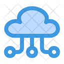 Cloud Storage Cloud Hosting Cloud Data Icon