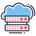 Cloud Storage Data Server Icon