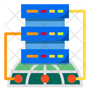 Cloud Storage Internet Digital Icon