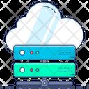 Cloud Storage Cloud Server Network Server Icon