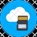 Cloud Storage Cloud Memory Cloud Technology Icon