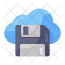 Cloud Storage Cloud Computing Cloud Hosting Icon