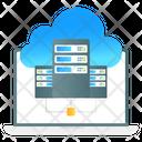 Cloud Database Cloud Hosting Cloud Storage Icon