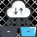 Cloud Storage Online Storage Cloud Computing Icon