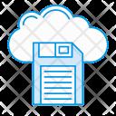 Cloud Server Save Icon