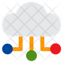 Cloud Storage Cloud Files And Folders Icon
