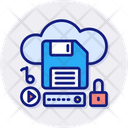 Cloud Storage Cloud Data Icon