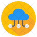 Cloud Storage Cloud Hosting Cloud Technology Icon