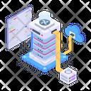 Cloud Hosting Cloud Computing Cloud Storage Icon