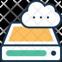 Cloud Storage Drive Icon