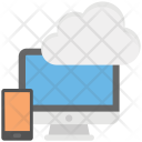 Storage Cloud Computing Icon