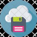 Cloud Storage Floppy Icon
