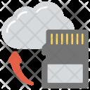 Cloud Storage Sd Icon