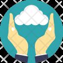 Cloud Storage Sharing Icon