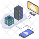 Cloud Storage Center Icon