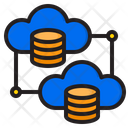 Cloud Storage Database Icon