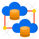 Network Database Cloud Icon