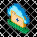 Cloud Storage Internet Icon