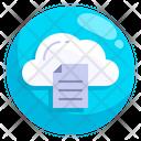 Cloud Storage Notification Cloud Storage Cloud File Icon