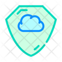 Cloud Storage Protection Icon