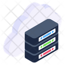 Cloud Storage Cloud Storage Server Cloud Server Icon