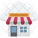 Cloud Store Icon