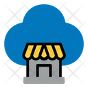Store Market Cloud Icon