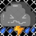 Cloud Storm Icon